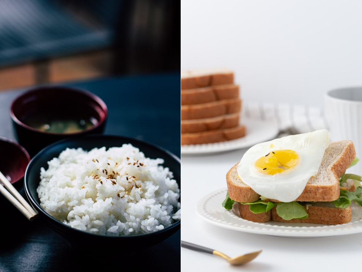 Rice and Bread