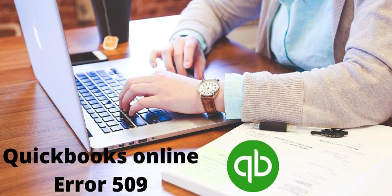 Quickbooks online Error 509