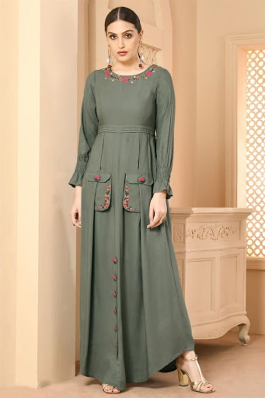 FrockGown style kurti