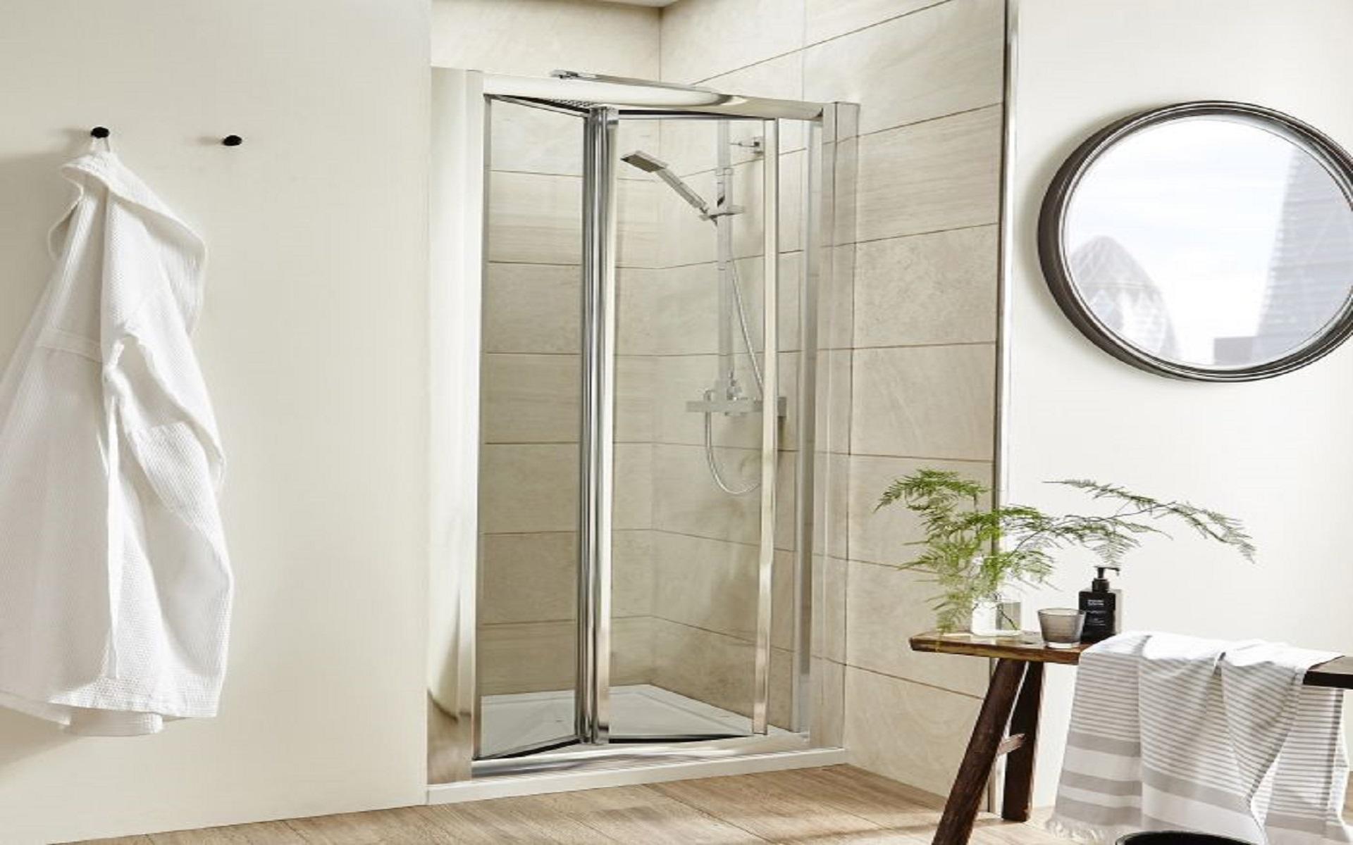 Bi-Fold-Shower-Door