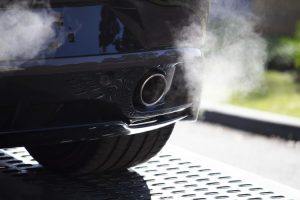 Emissions from a car exhaust