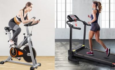 Pros and Cons of an Exercise Bike and a Treadmill