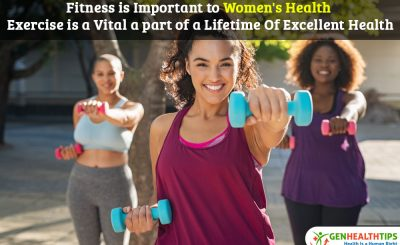 Health and fitness is Key to Women's Health, Fitness is Important to Women's Health, Healthy mind in a healthy body