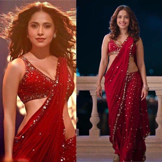 Bollywood Red Saree