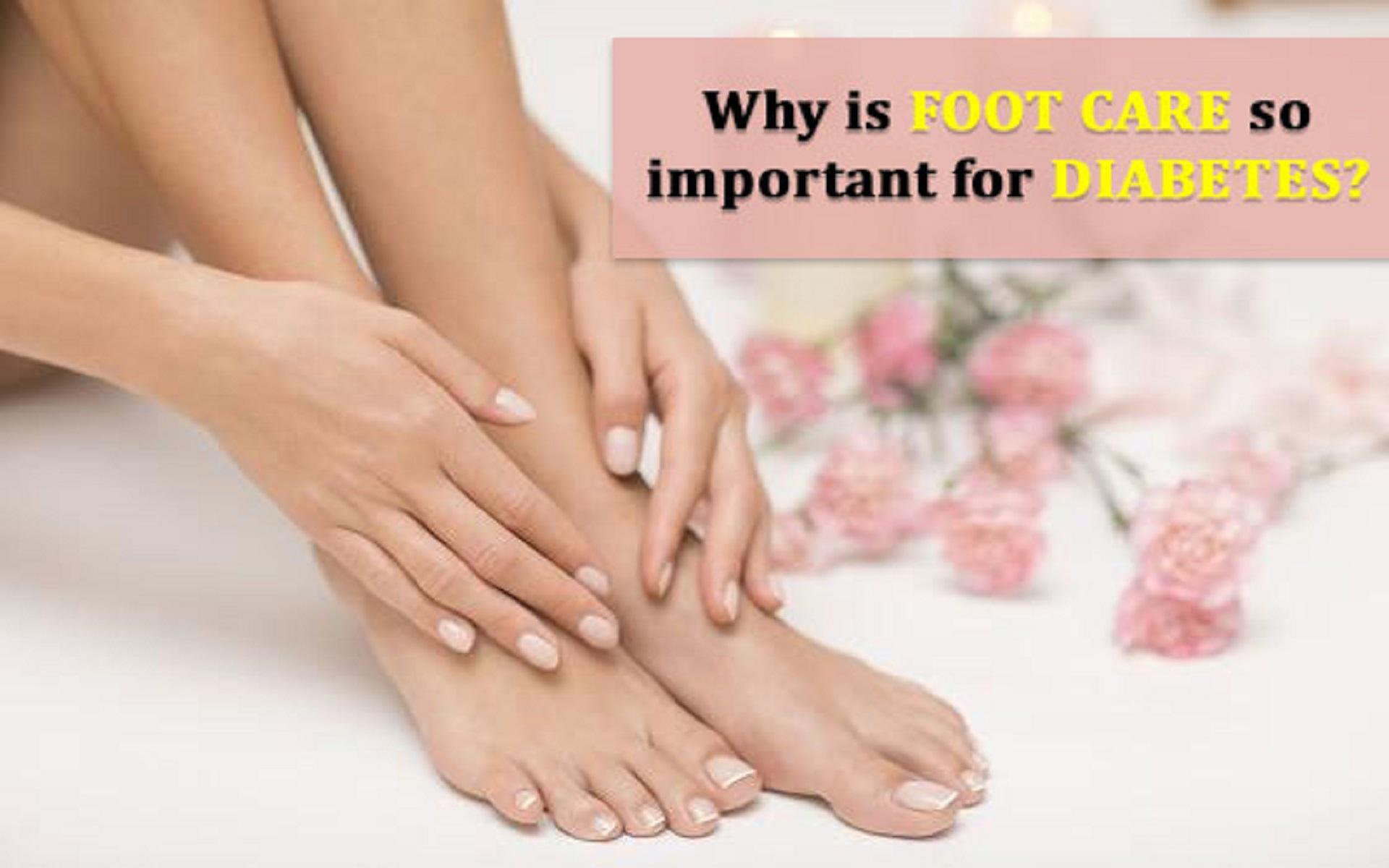 Foot care Diabetes
