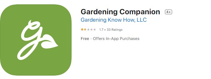Gardening Companion