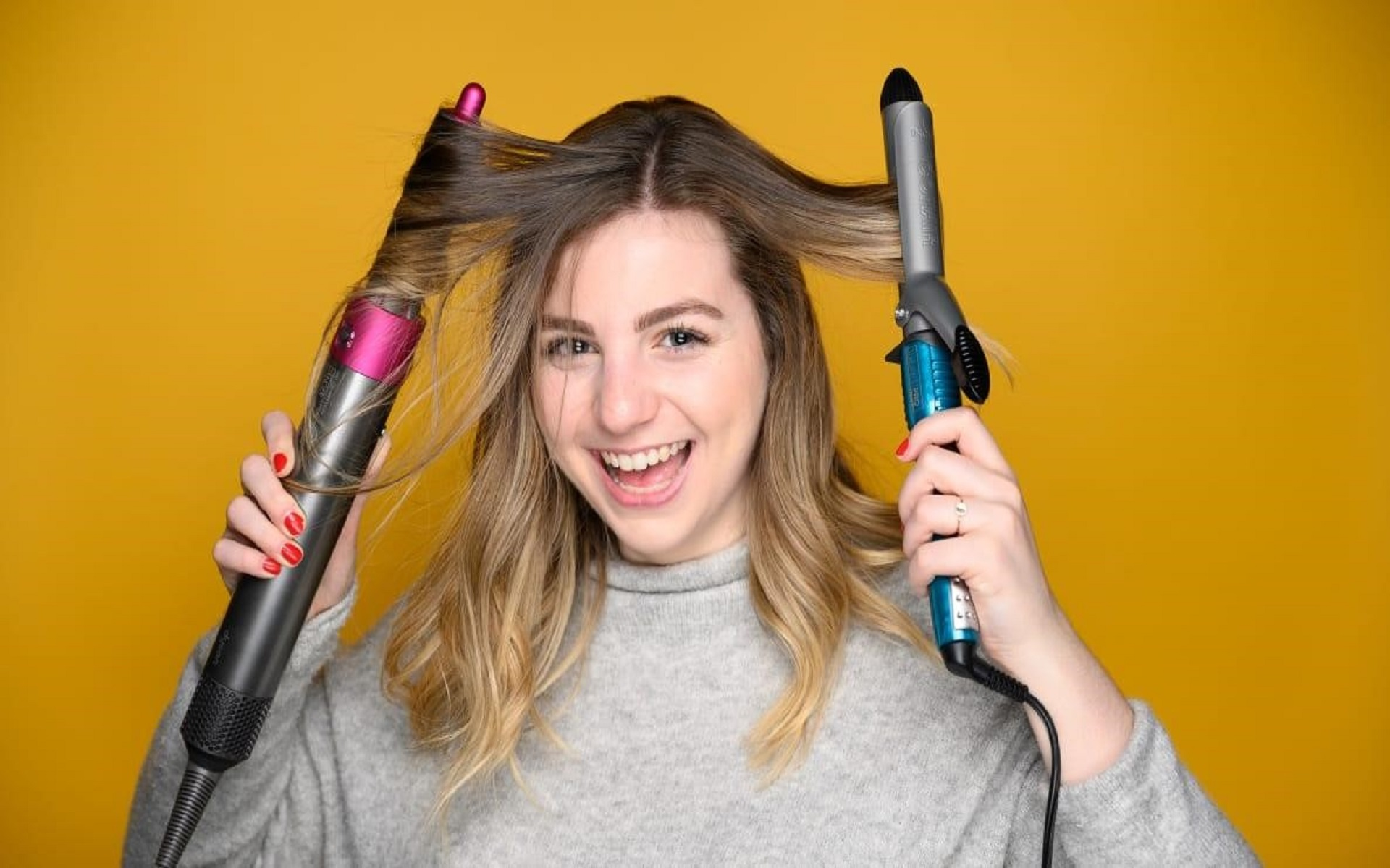 a Curling Iron Versus a Curling Wand