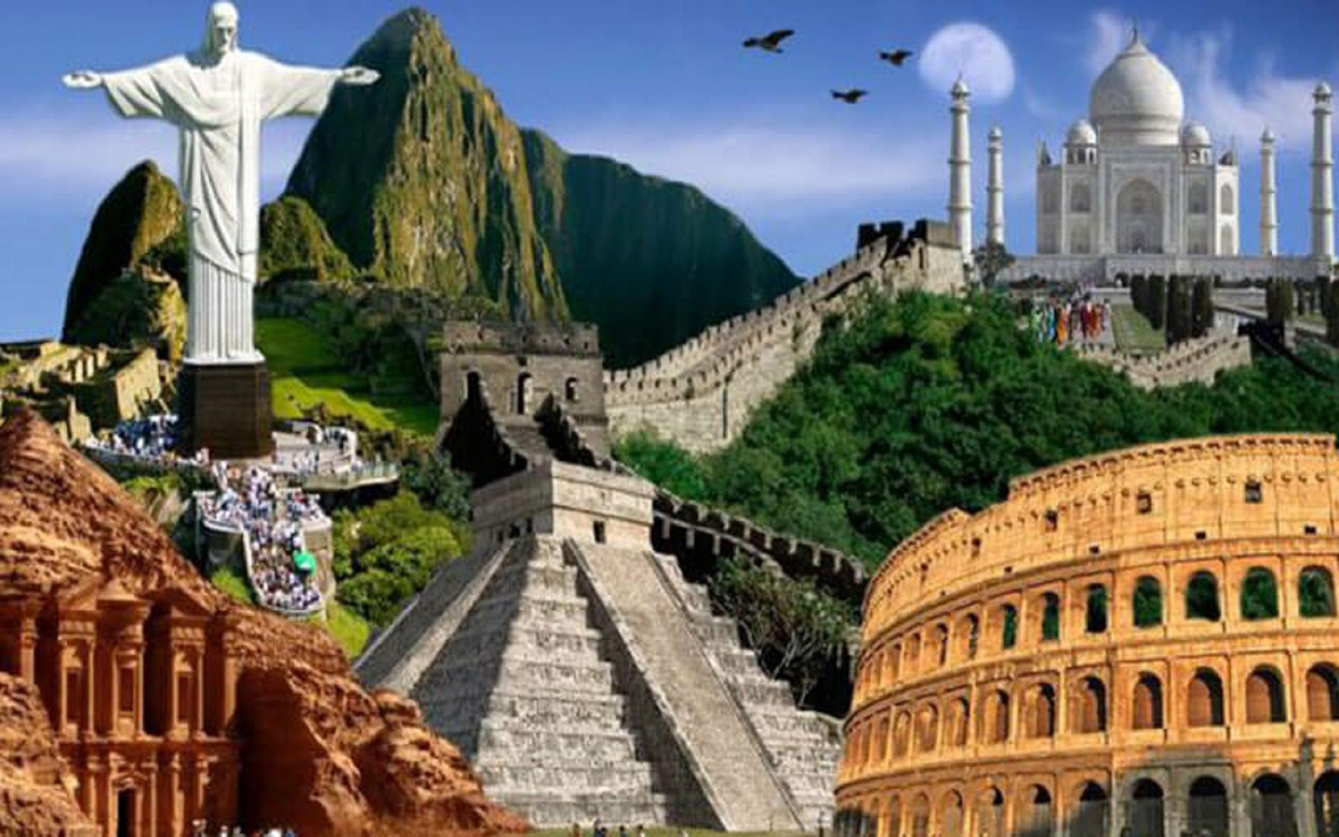 Explore The New Seven Wonders Of The World