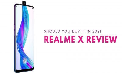 realme x review