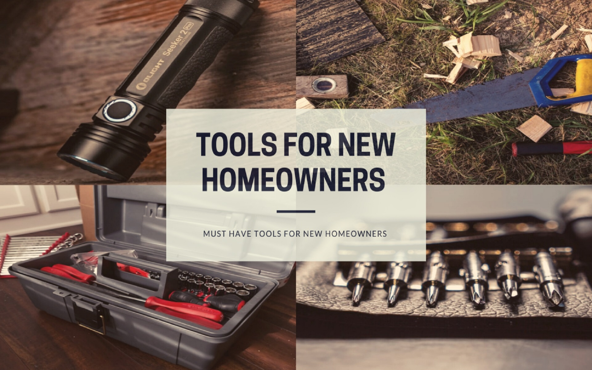 tools for new homeowners