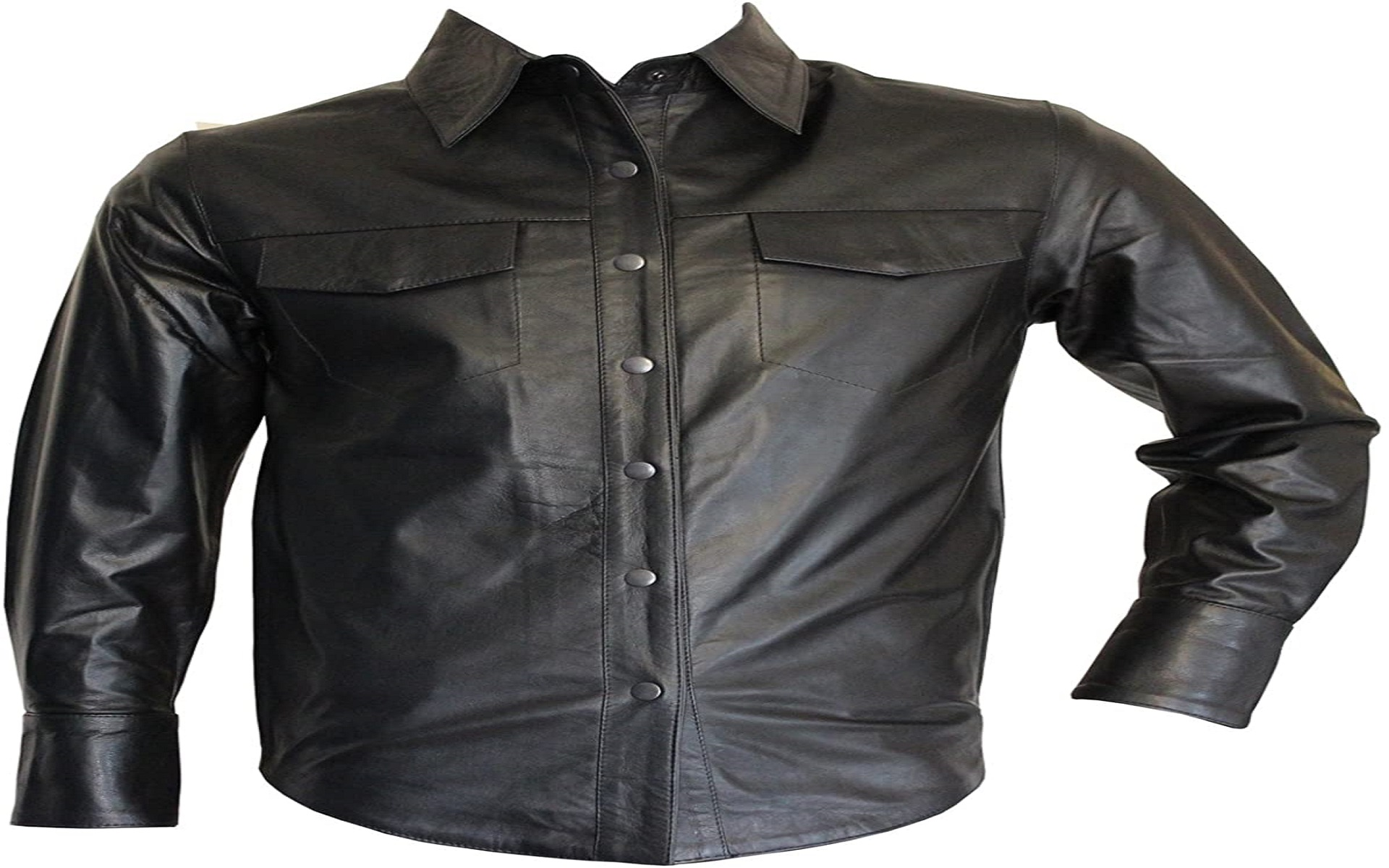 Leather shirts for men